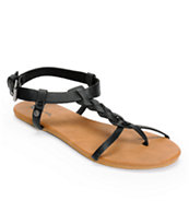 Volcom Girls Hot Summer Day Black & Brown Sandals