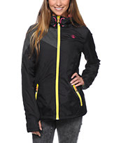 Volcom Girls Nyala Black Insulated Jacket