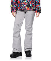 Volcom Girls Species Grey 15K Stretch Snowboard Pants 2014