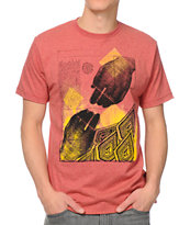 Volcom Handy Red Tee Shirt