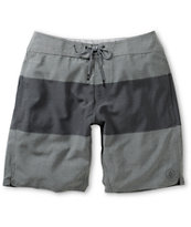 Volcom Heather Grey Stripe 20 Hybrid Shorts