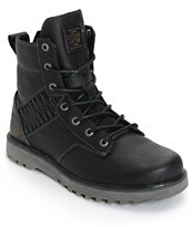 Volcom Hemlock Black Leather Boots