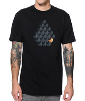 Volcom Indigestion Black Tee Shirt