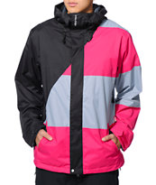 Volcom Johnny Black & Pink 10K 2014 Snowboard Jacket