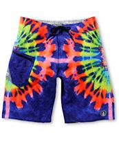 Volcom Lido Tripper Tie Dye 21 Board Shorts