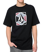 Volcom Lock Black Tee Shirt
