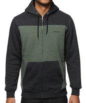 Volcom Logan Sherpa Zip Up Hoodie