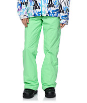 Volcom Logic Green 8K Snowboard Pants 2014