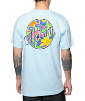 Volcom Madame Light Blue Tee Shirt