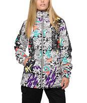 Volcom Magnum Leopard Print 10K Insulated Snowboard Jacket