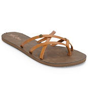 Volcom New School Cognac Sandals