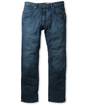 Volcom Nova High Time Blue Stretch Regular Fit Jeans