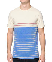 Volcom Ogden Blue Stripe T-Shirt
