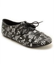 Volcom One Way Print Shoes