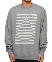 Volcom Opposites Attract Crew Neck Sweatshirt