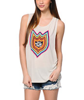 Volcom Ozzie Anti Bad Vibe Natural Muscle T-Shirt