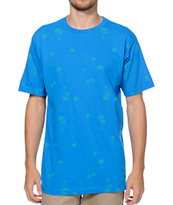 Volcom Palm Cheese Navy Tee Shirt