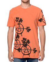 Volcom Palmarchy Orange T-Shirt
