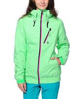 Volcom Panorama Green 8K Snowboard Jacket