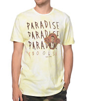 Volcom Paradise Fools Yellow T-Shirt