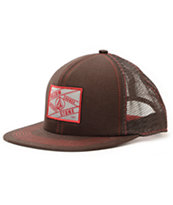 Volcom Patch Brown Trucker Hat