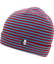 Volcom Pencil Line Red Fold Beanie