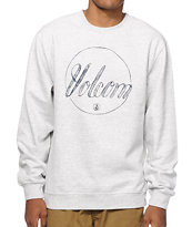 Volcom Pencil Script Crew Neck Sweatshirt