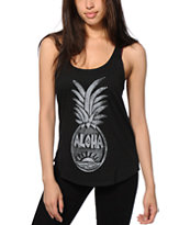 Volcom Pineapple Stamp Tank Top