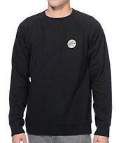 Volcom Programmer Black Crew Neck Sweatshirt