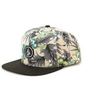 Volcom Quarter Floral Snapback Hat