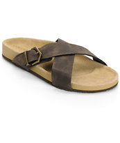 Volcom Relax Brown Sandals