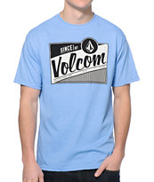 Volcom Rev Light Blue Tee Shirt