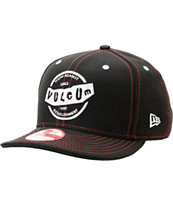 Volcom Rifle Black New Era Snapback Hat