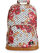 Volcom Schoolyard Floral Polka Dot Backpack