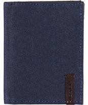 Volcom Selvage Indigo Blue Bifold Wallet