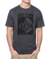 Volcom Shanty Charcoal T-Shirt