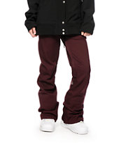 Volcom Species Burgundy 15K Stretch Snowboard Pants