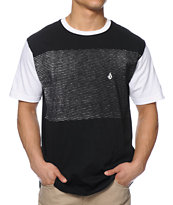 Volcom Stone Impossible Black & White Tee Shirt