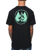 Volcom Stone Sweep Black Tee Shirt