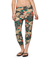 Volcom Tipper Floral & Animal Print Pants