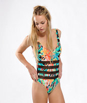 Volcom Tropical Riot One Piece Swimsuit