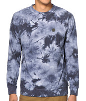 Volcom Washed Pulli Tie Dye Crew Neck Sweatshirt