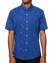 Volcom Weirdoh Printed Button Up Shirt