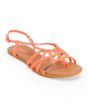 Volcom Women's No Sweat Hot Coral Creedler Sandals