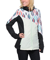 Volcom Women's Nyala Mint & Black Insulated Jacket