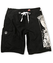 Volcom Yae Black 21 Board Shorts