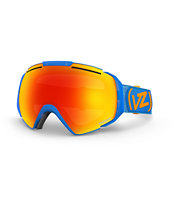 Von Zipper El Kabong Blue & Lunar Chrome 2014 Snow Goggle