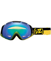 Von Zipper El Kabong Frosteez Pucker Up & Quasar Chrome Goggle