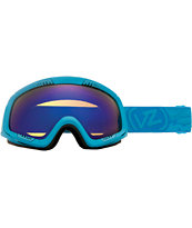 Von Zipper Feenom Blue Satin & Astro Chrome Goggle