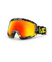 Von Zipper Feenom Gnar-Waiian Black & Yellow 2014 Snow Goggles